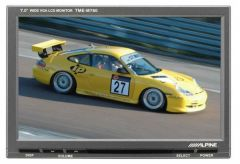 Écran vidéo ALPINE TME-780