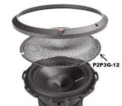 Grilles hauts parleurs ROCKFORD P2P3G-12