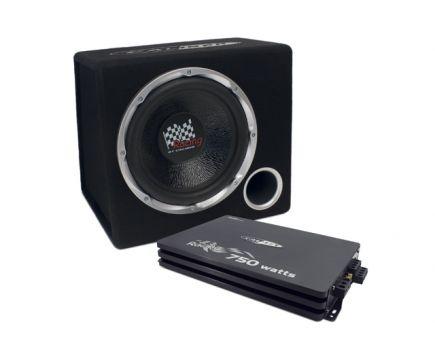 Pack Caisson Avec Ampli Caliber PACK12P4