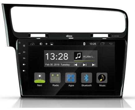 Autoradio GPS VW GOLF7 RADICAL R-C10VW2