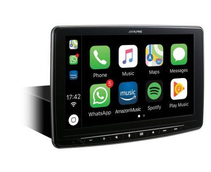 Autoradio 9 Pouces Gps  Carplay Android Auto ALPINE INE-F904D