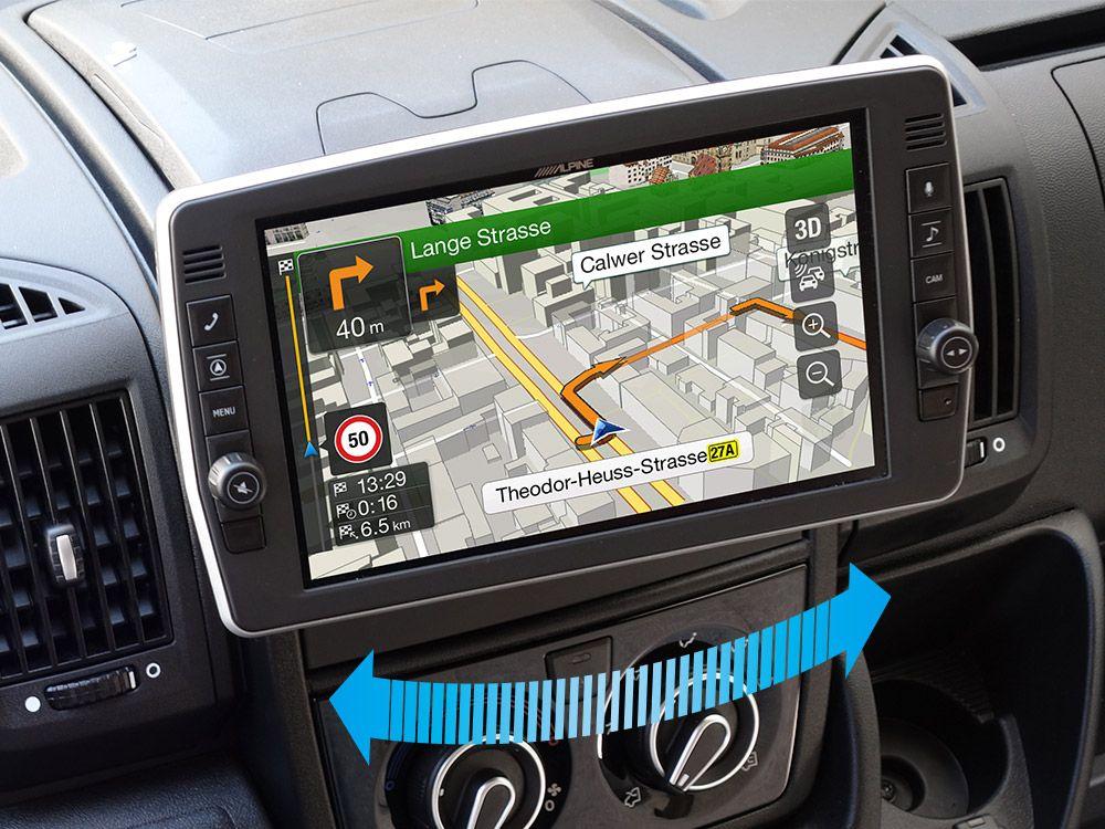 X903D-DU2 - Autoradio Navigation Camping Car ALPINE X903D-DU2 | Sebasto  Autoradio