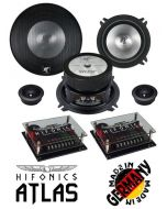 Haut parleurs 13 cm HIFONICS ATL-5.2C