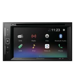 Autoradio 2 Din 6.2 Pouces multimedia  MirrorLink Usb Bluetooth Dvd PIONEER AVH-A240DAB