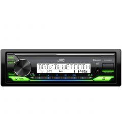 Autoradio 1 Din Marine Usb Dab Bluetooth Flac JVC KD-X38MDBT