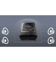 Caisson Amplifie 4 Canaux Bluetooth ALPINE PWD-X5