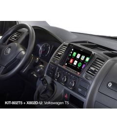 Station multimedias Navigation VW T5 ALPINE X803D-T5