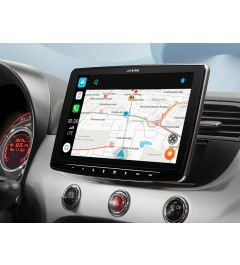 Autoradio 1 Din Multimedia Carplay Android Auto Fiat 500