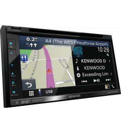 Autoradio 2 Din Gps Garmin Android Auto Carplay KENWOOD DNX5190DABS
