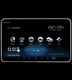 Ecran Appuie tete 12.5 Pouces 4 K HDMI Bluetooth Wifi PHONOCAR VM156