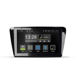 Autoradio 2 Din Skoda Octavia III Android Multimedia Dab Bluetooth RADICAL R-C11SK1