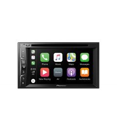 Autoradio vidéo DVD, 2 DIN, 6, pouces, Apple CarPlay + camera de recul