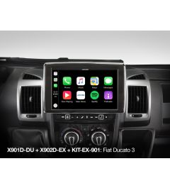 Boitier Carplay Android Alpine X902D-EX