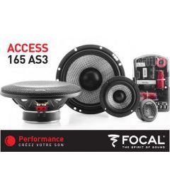 Haut parleurs 16.5 cm FOCAL 165AS3
