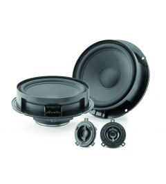 Kit 2 Voies Separees Specifique VW FOCAL ISVW155