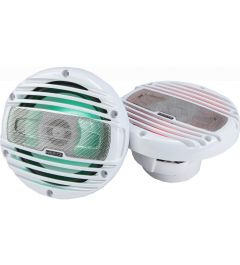 Haut Parleurs 16.5Cm 2 Voies LED RGB Gamme Marine HERTZ HMX6.5-LD