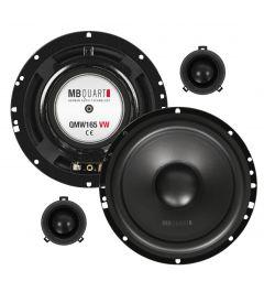 Haut parleurs sur mesure MB QUART QM-165VW