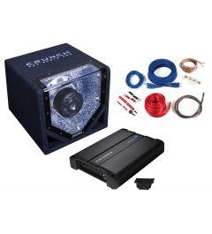 Pack Caisson 20 Cm Ampli Mono CRUNCH CPX750.1