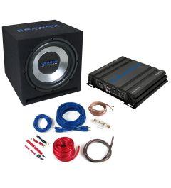 Pack Caisson 30 Cm Ampli 2 Canaux CRUNCH CBP500