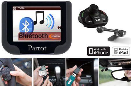 kit main libre int gr parrot mki9200 kit main libre bluetooth pour iphone et sd parrot. Black Bedroom Furniture Sets. Home Design Ideas